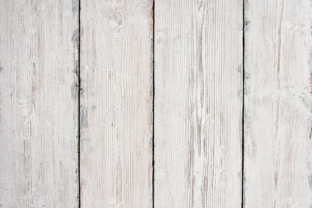 Stock Photo   Wood Planks Texture, White Wooden Table Background, Floor Or  Wall