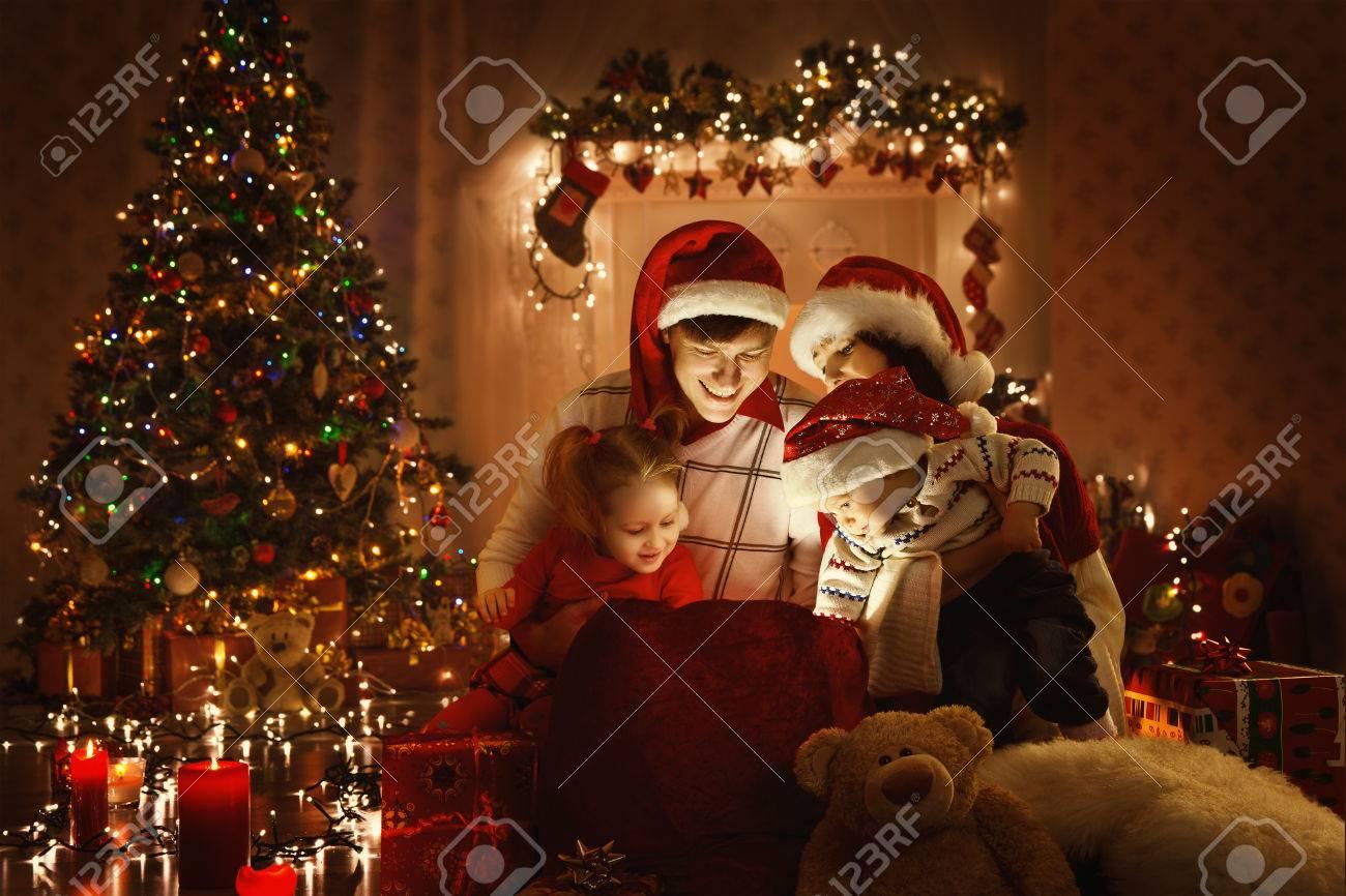 Geschenkideen Familie Weihnachten.Stock Photo