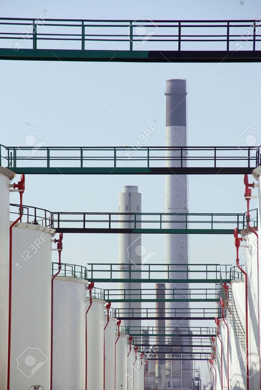 Oil storage tanks Stock Photo - 3282379