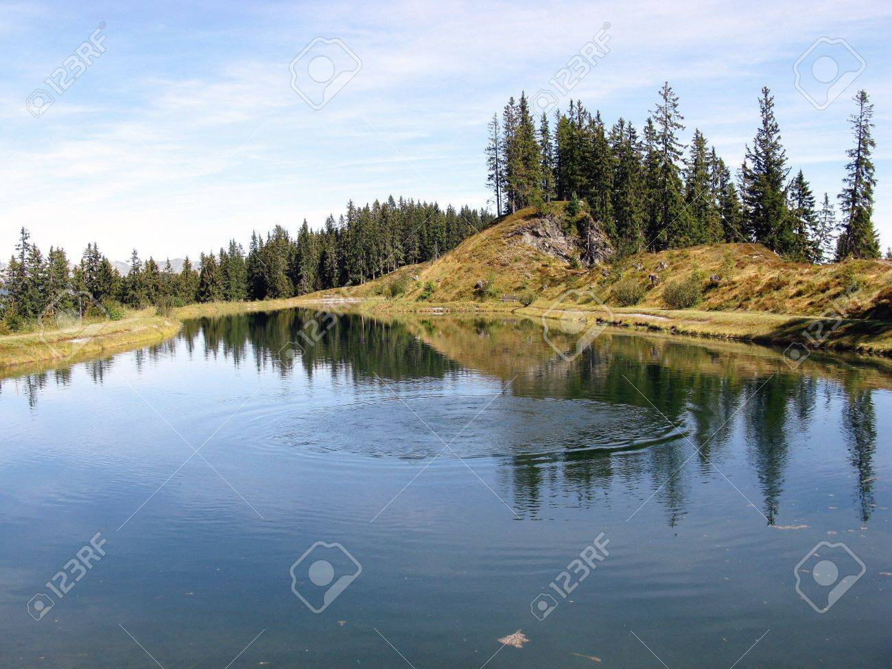 A lake in the Austrian alps Stock Photo - 5855417