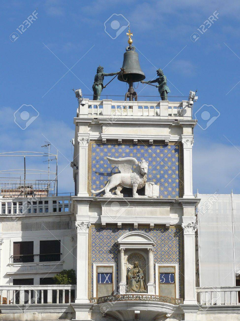 The San Marco bell tower in Venice in Italy Stock Photo - 12506348