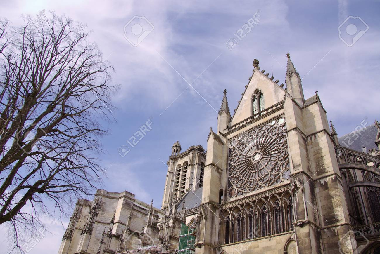 The cathedral of Saint Peter and Paul in Troyes in champagne in France Stock Photo - 16934381