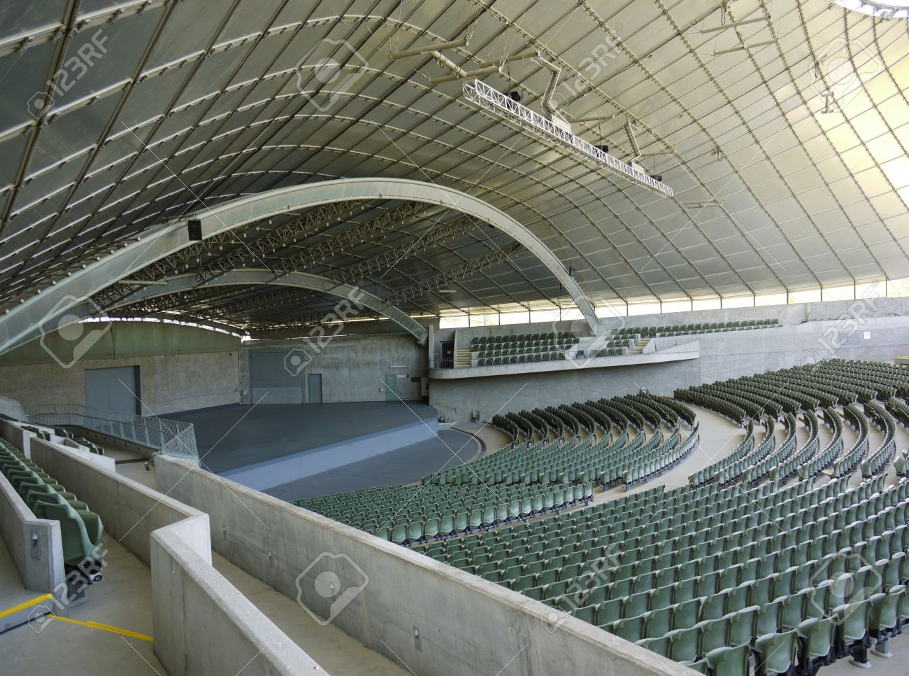 The Sidney Myer Music Bowl Is An Open Air Performance Venue In Melbourne In  Victoria In