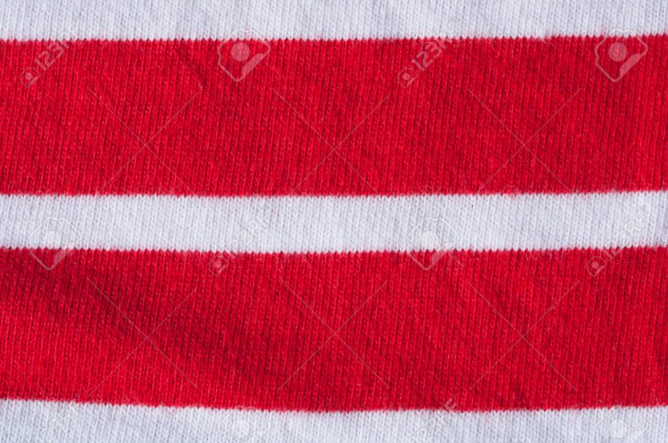08648df0 Rot-weiß Gestreiften Jersey Stoff Lizenzfreie Fotos, Bilder Und ...