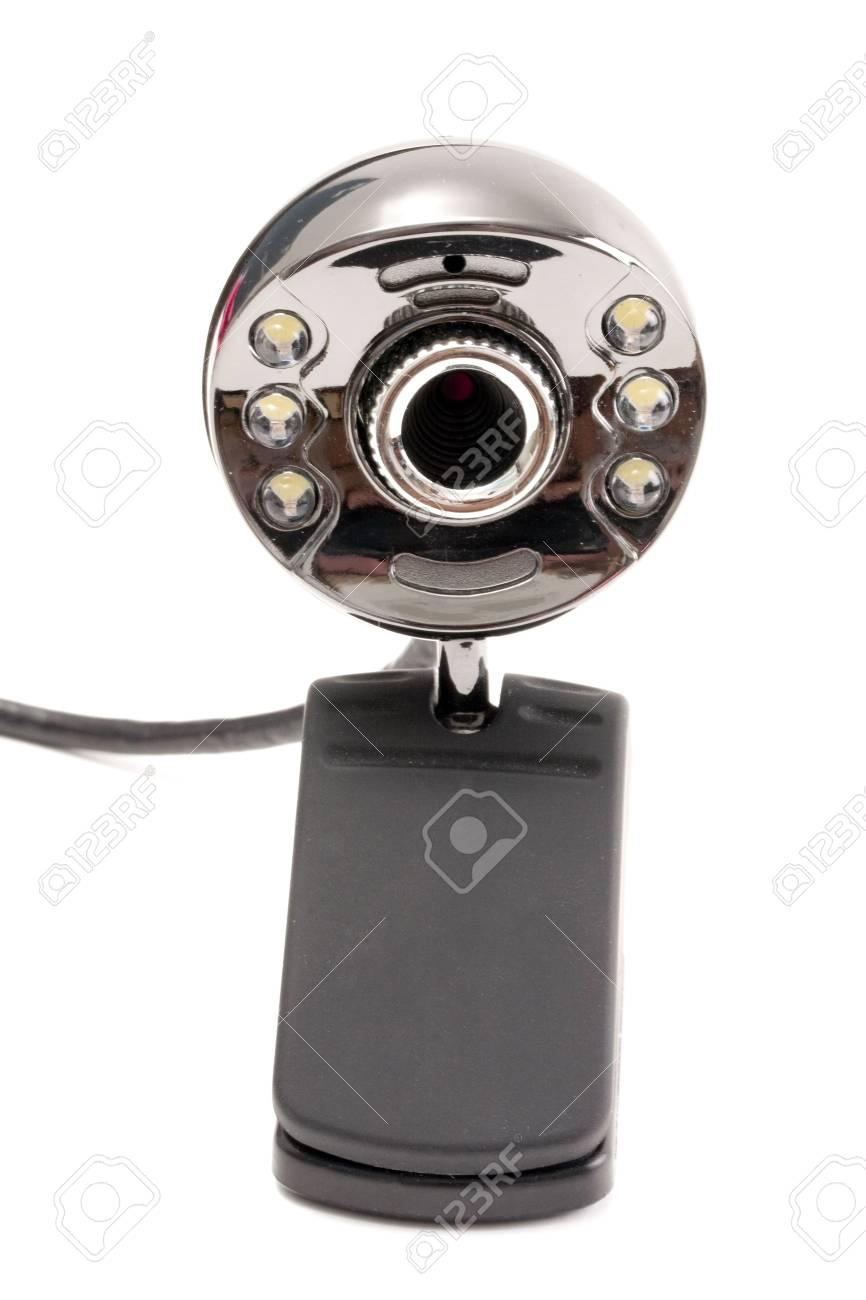 Digital webcam on white background Stock Photo - 5328578