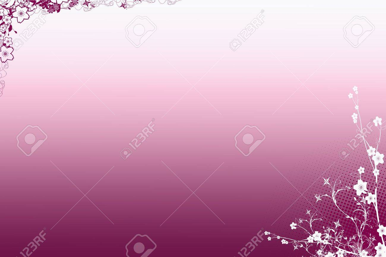 Abstract background frame of floral pattern Stock Photo - 9150457