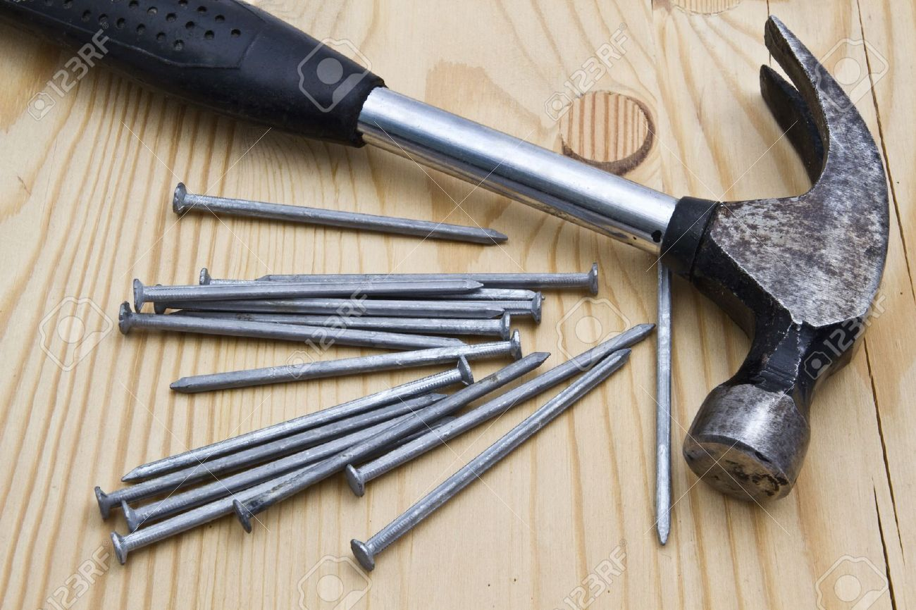 Image result for hammer and nails