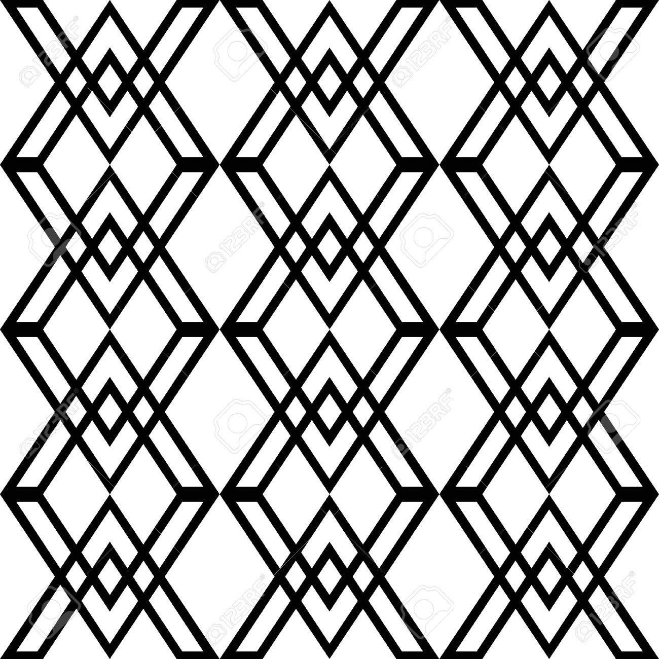 Resumen de antecedentes de los patrones geométricos de la moda sin costura