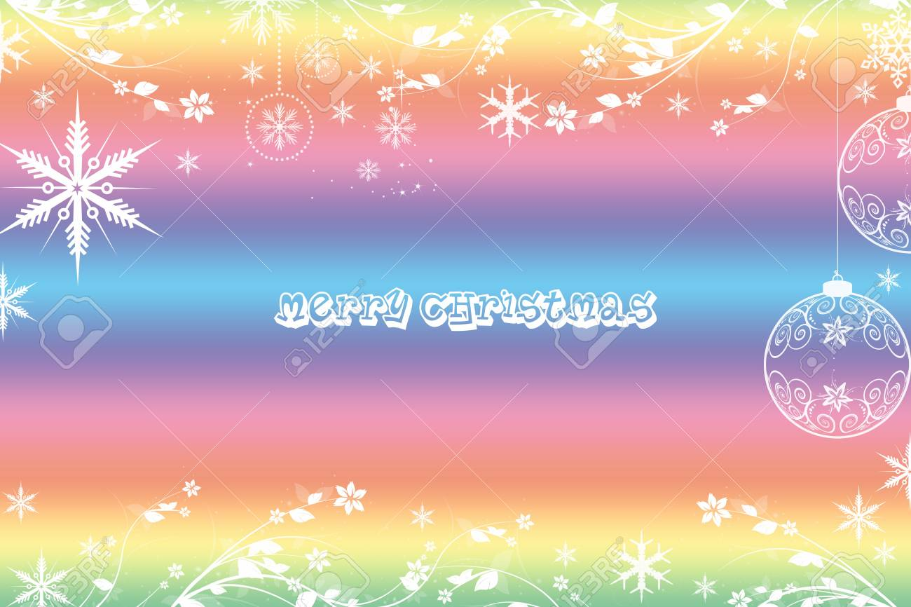 Beautiful Merry Christmas background Stock Vector - 11028129
