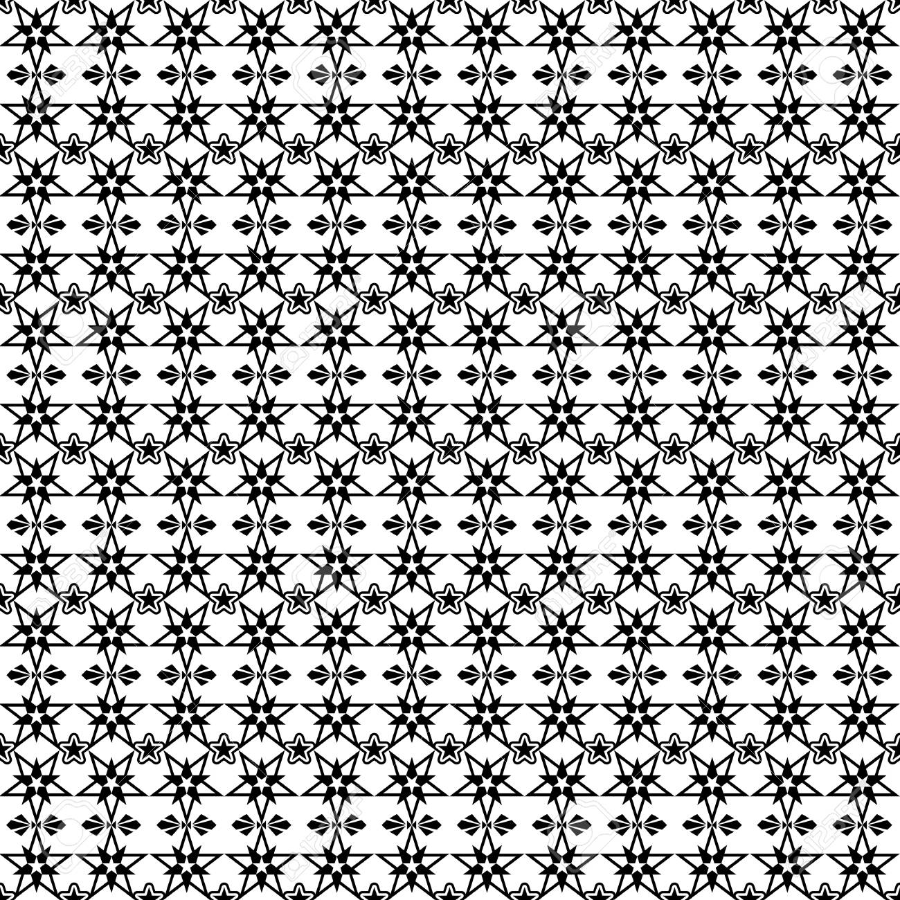 Beautiful background of seamless stars pattern Stock Vector - 12085333