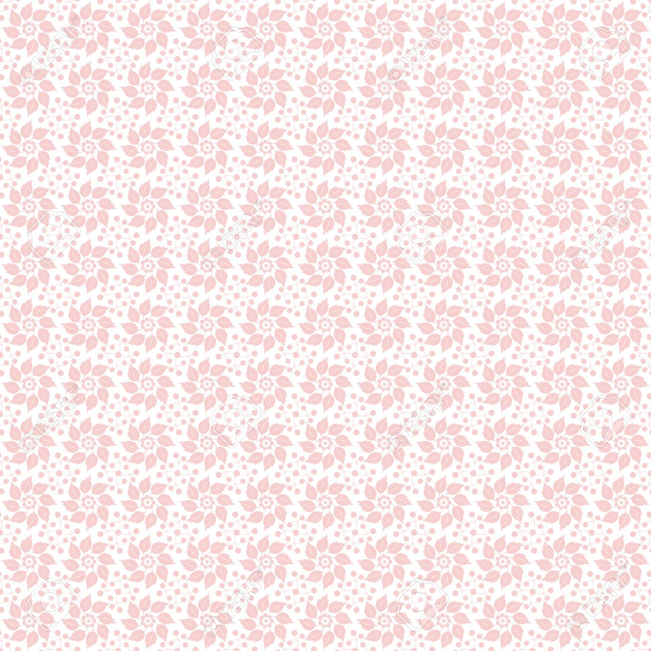 Beautiful background of seamless floral pattern Stock Vector - 13814049