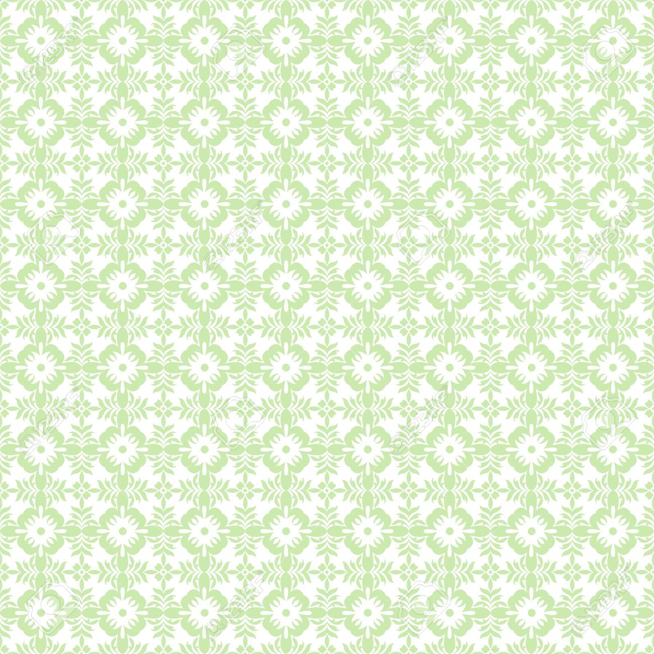 Beautiful background of seamless floral pattern Stock Vector - 14464551