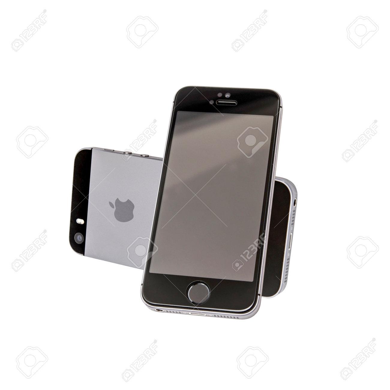 Iphone 5s Avant Et Arriere Isole Sur Fond Blanc Banque D Images Et