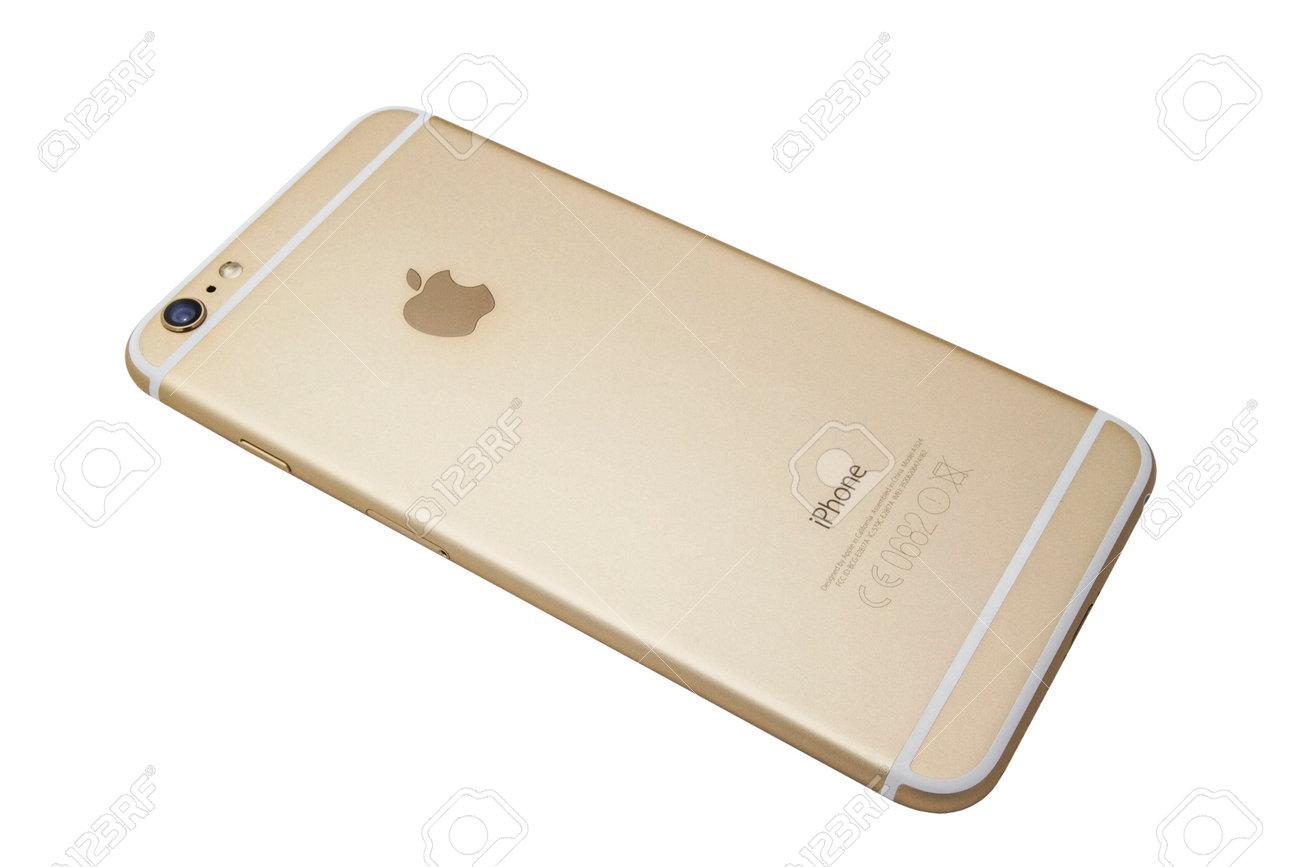 Immagini Stock Retro Di Un Iphone 6 Plus Isolato Su Sfondo Bianco