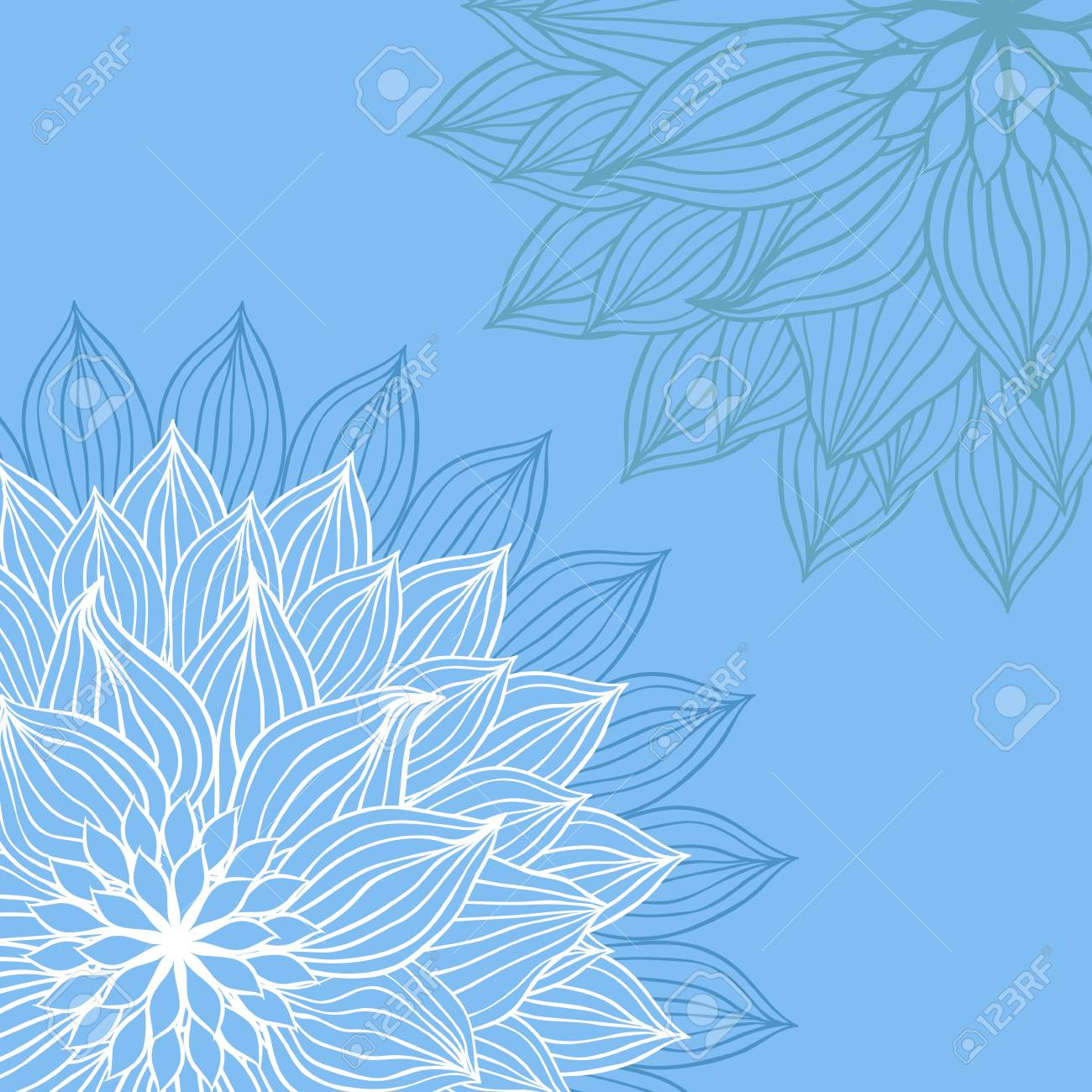Abstract floral background flower element for design Stock Vector - 13464904