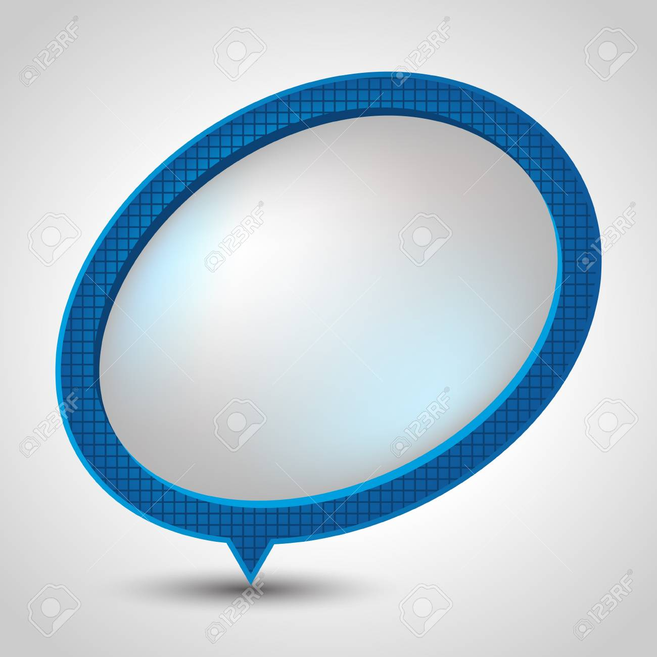 Abstract speech bubble background Stock Vector - 15036132