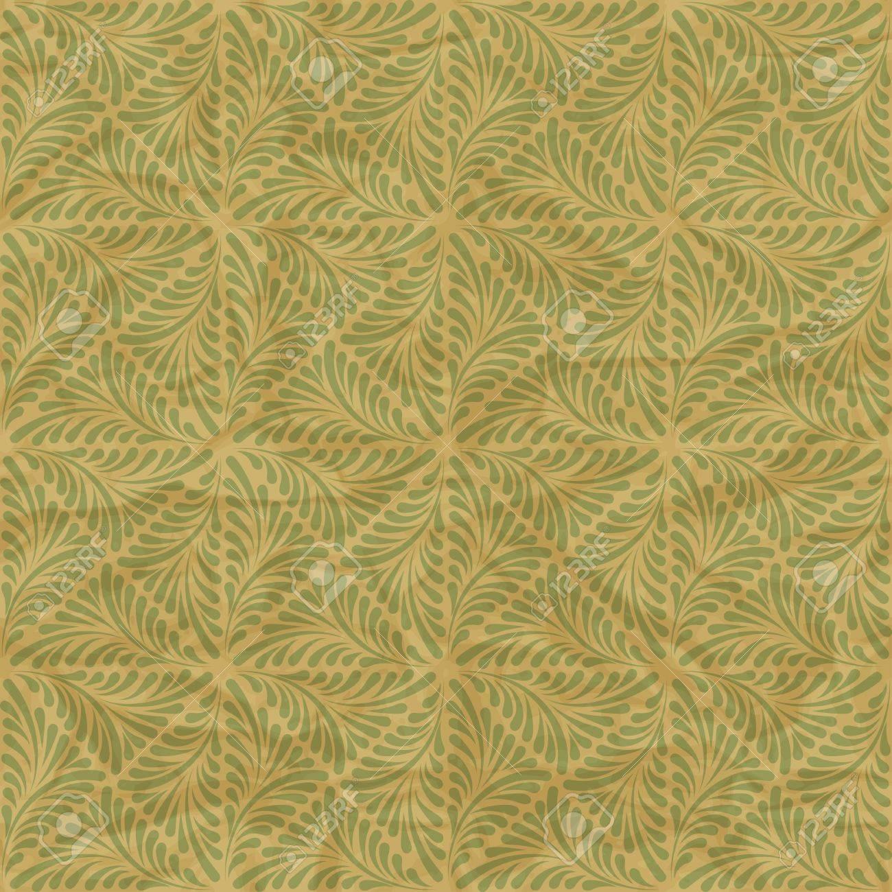 Seamless vintage wallpaper, floral pattern, retro wallpaper Stock Vector - 15809997