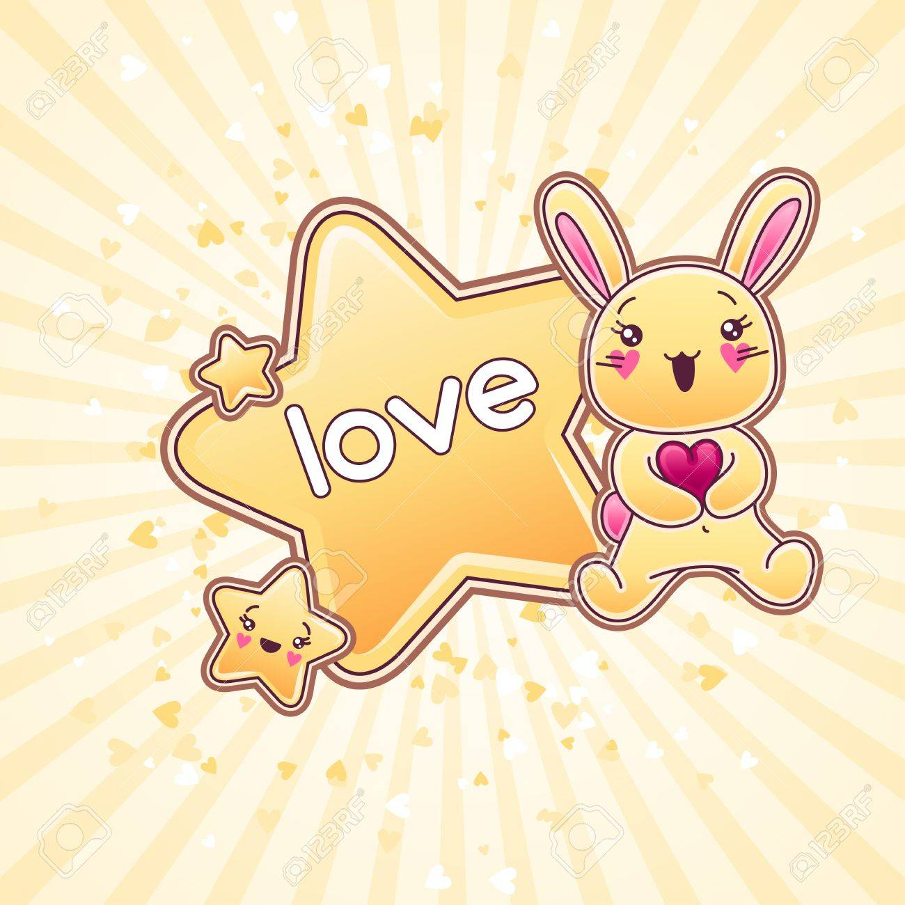 Cute child background with kawaii doodles Stock Vector - 16933435