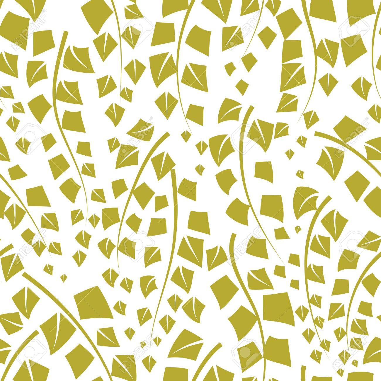 Seamless vector texture with green trees of birch Stock Vector - 17284438