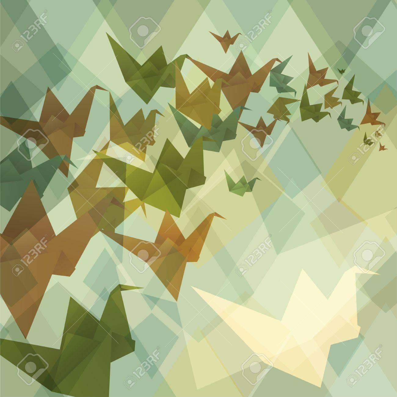 origami z kwadratów