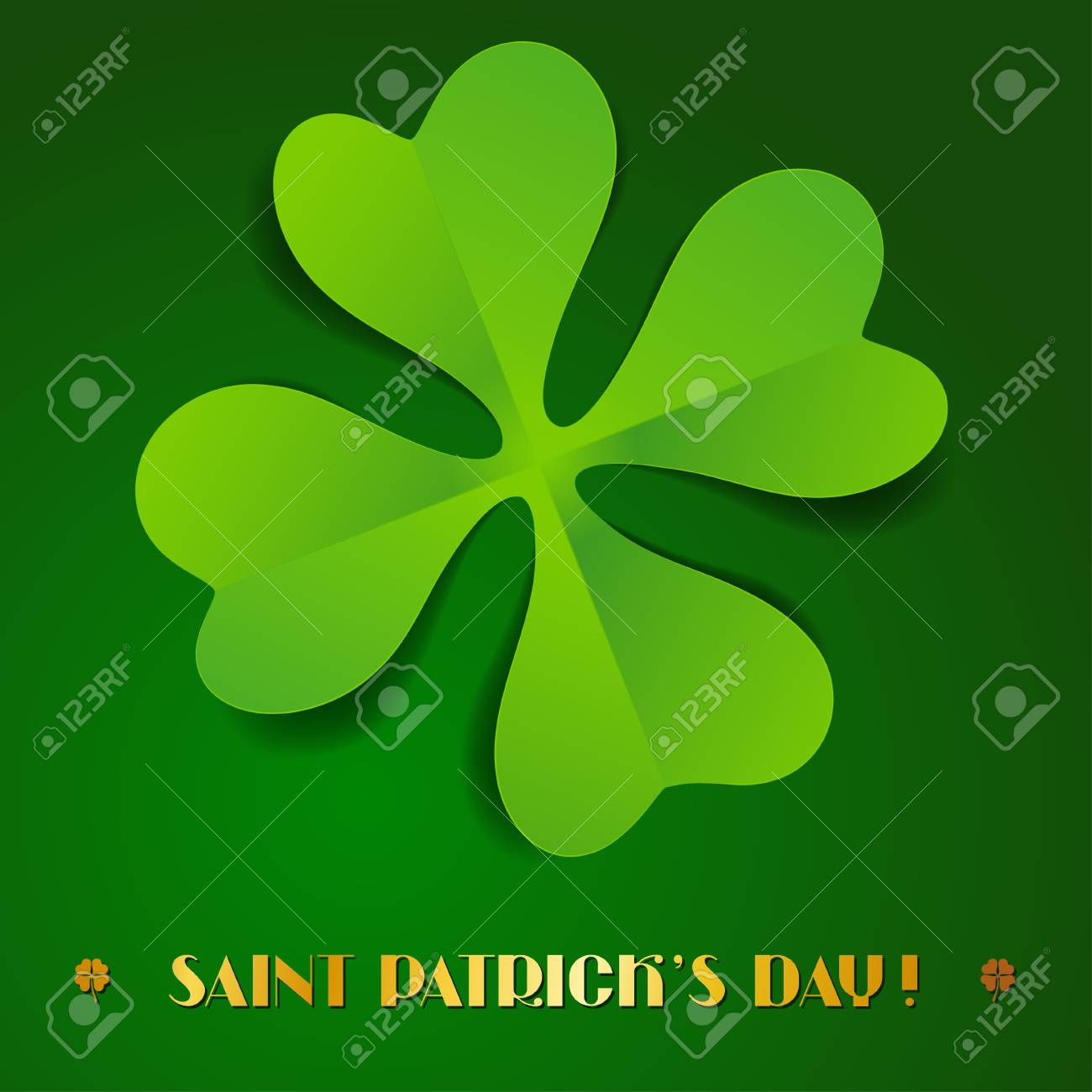 Saint Patrick s Day background Stock Vector - 17417715