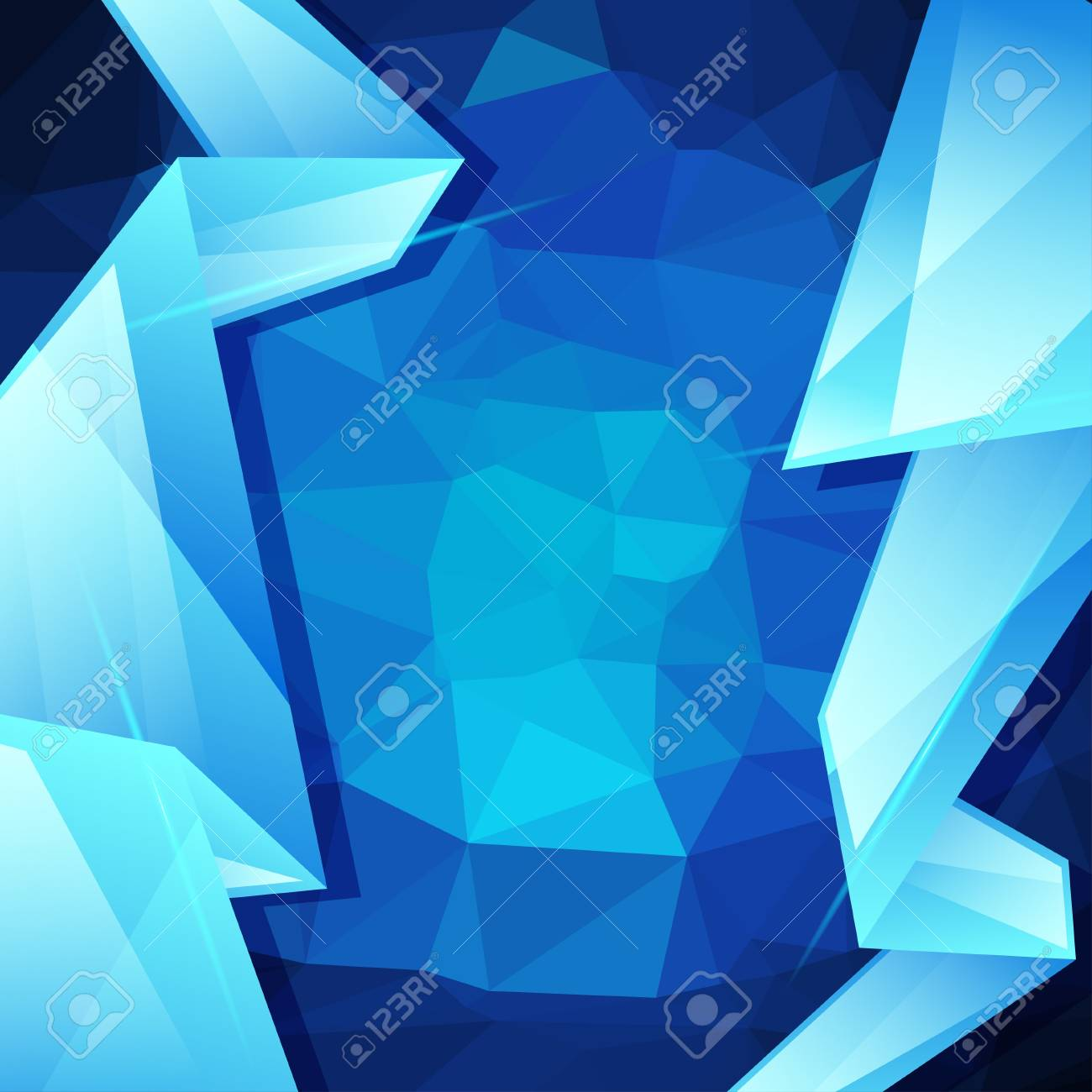 Abstract geometric background, design template Stock Vector - 19118011