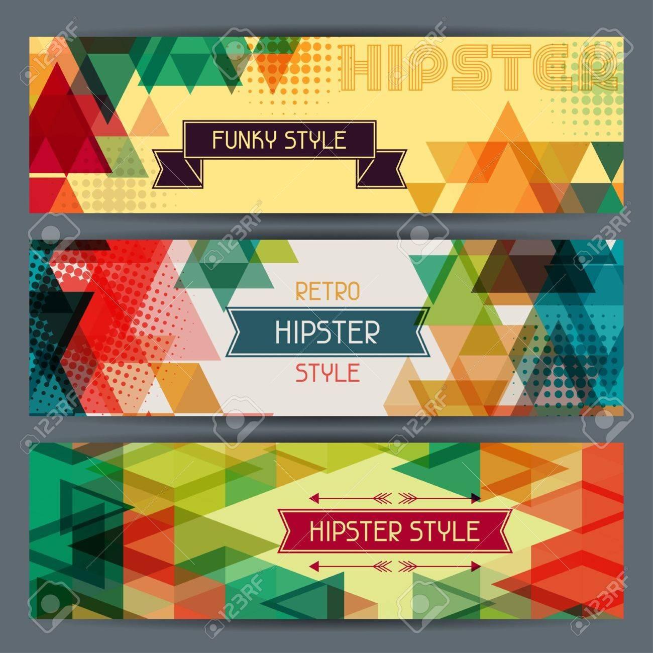Hipster Poster Design Hipster Poster Banner