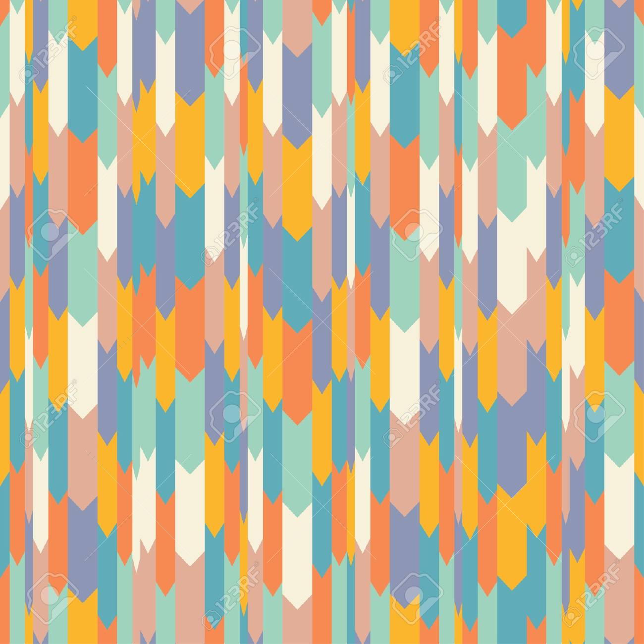 Seamless pattern in retro style Stock Vector - 21011052
