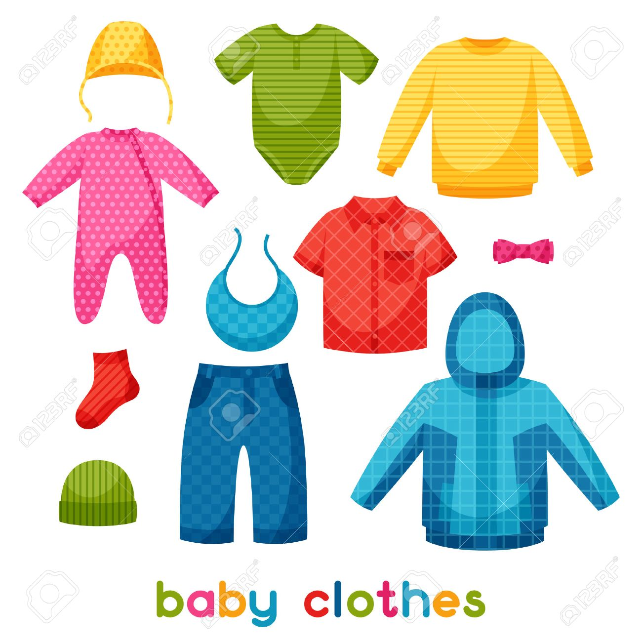 Baby Clothes Set Of Clothing Items For Newborns And Children