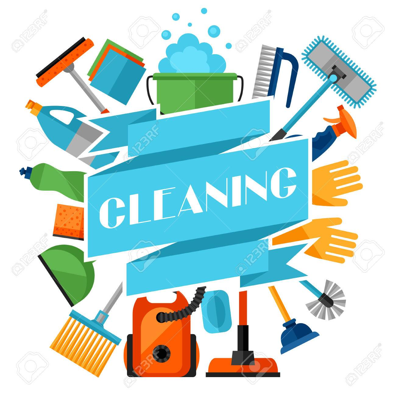 housekeeping background cleaning icons image can be used housekeeping background cleaning icons image can be used on advertising booklets banners