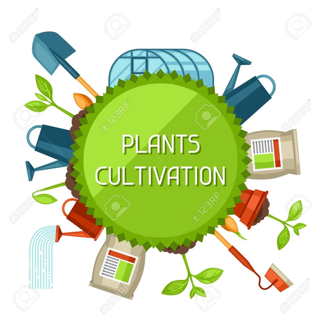 農業オブジェクトと概念。栽培、...
