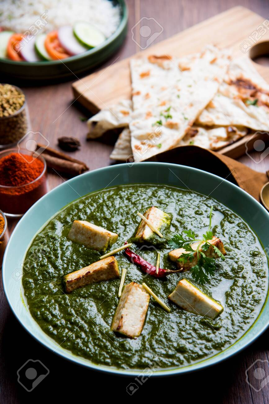 Palak Paneer Masala Is A Popular North Indian Recipe For Lunch Dinner
