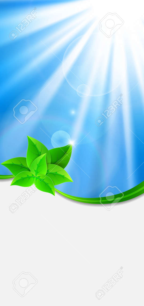 Eco-friendly abstract background Stock Vector - 16911757