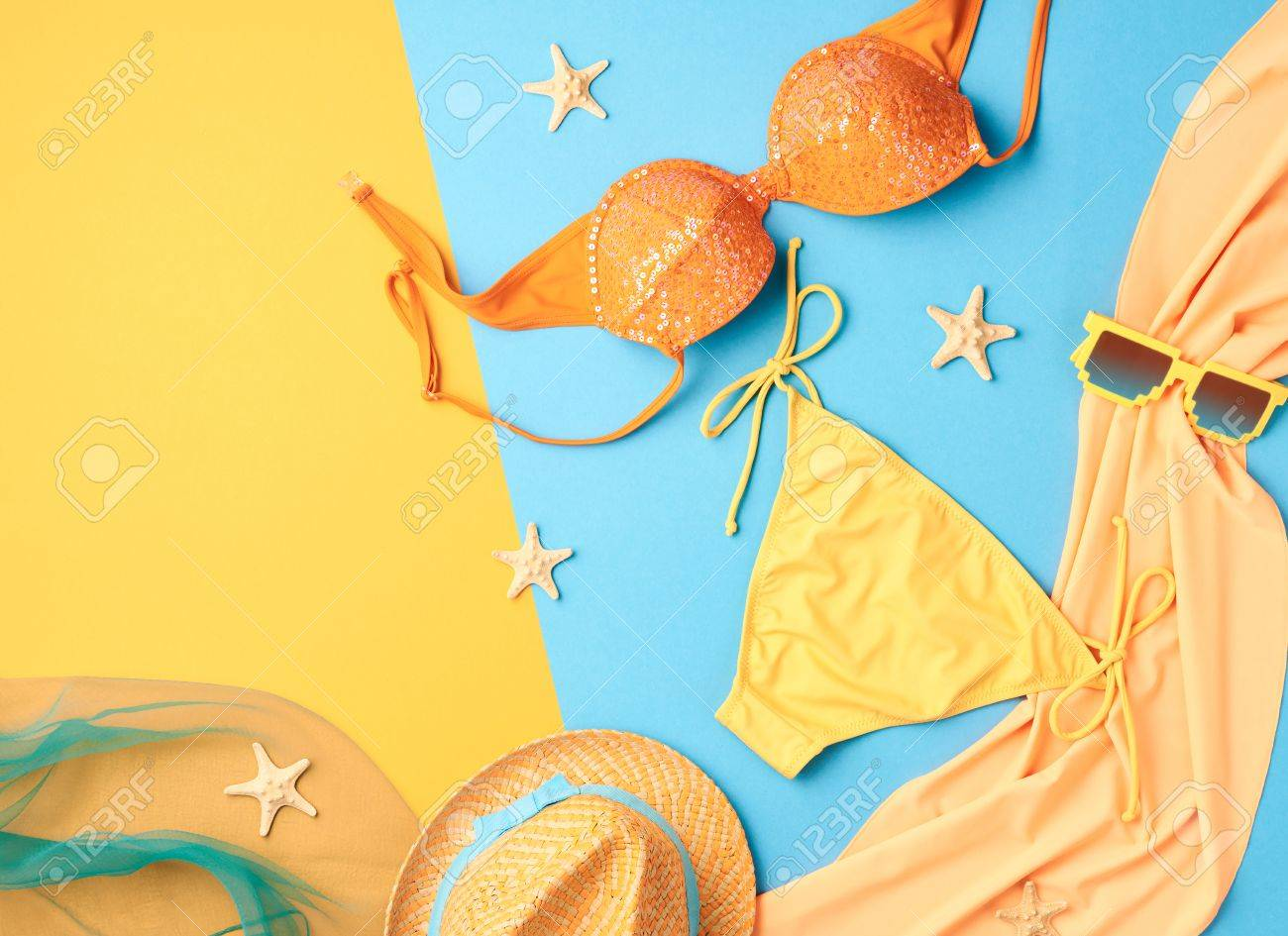 ab45826e1 Diseño De Moda. Playa Vestimenta. Moda Del Traje De Baño Bikini