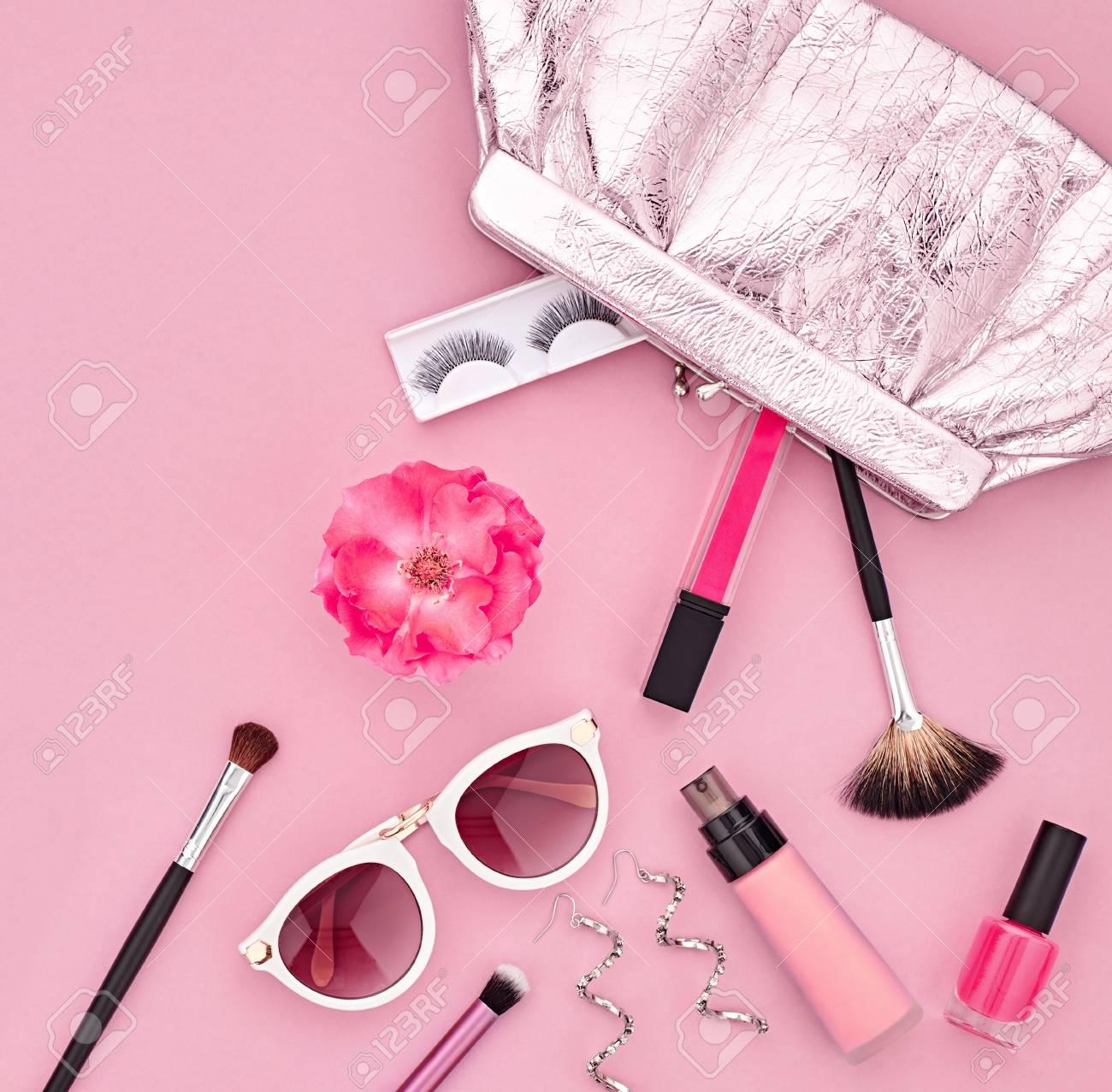 Maquillage De Mode Set Cosmetique Femme Accessoires Beaute Set