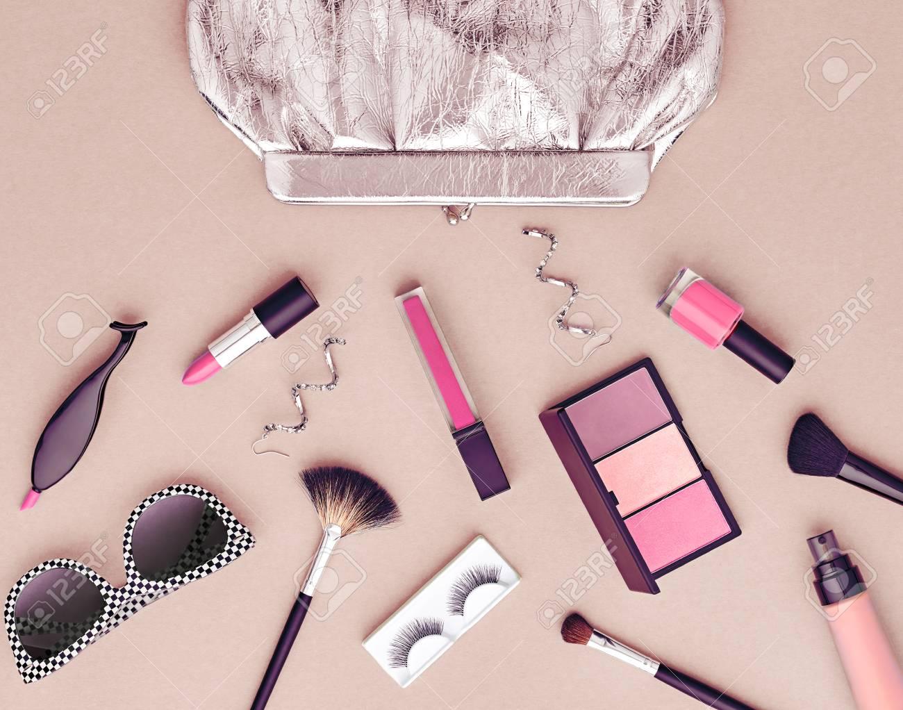 Set Mode Maquillage Cosmetique Femme Accessoires Beaute Set