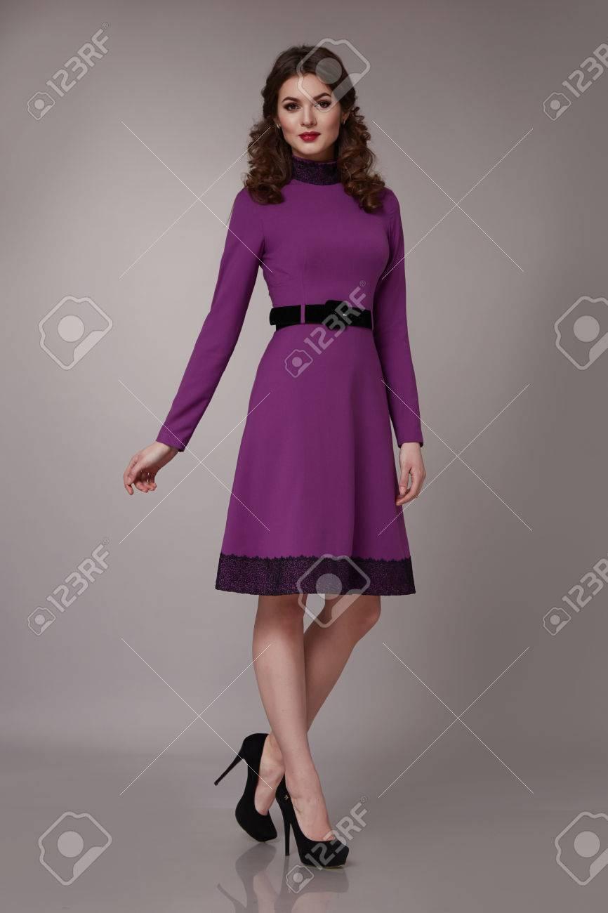 Sexy girl short dress