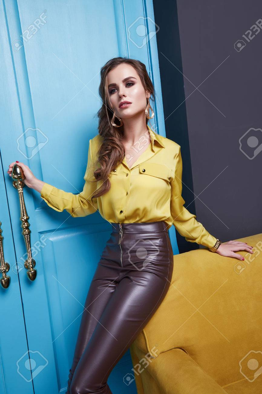 Clothing leather sexy womens