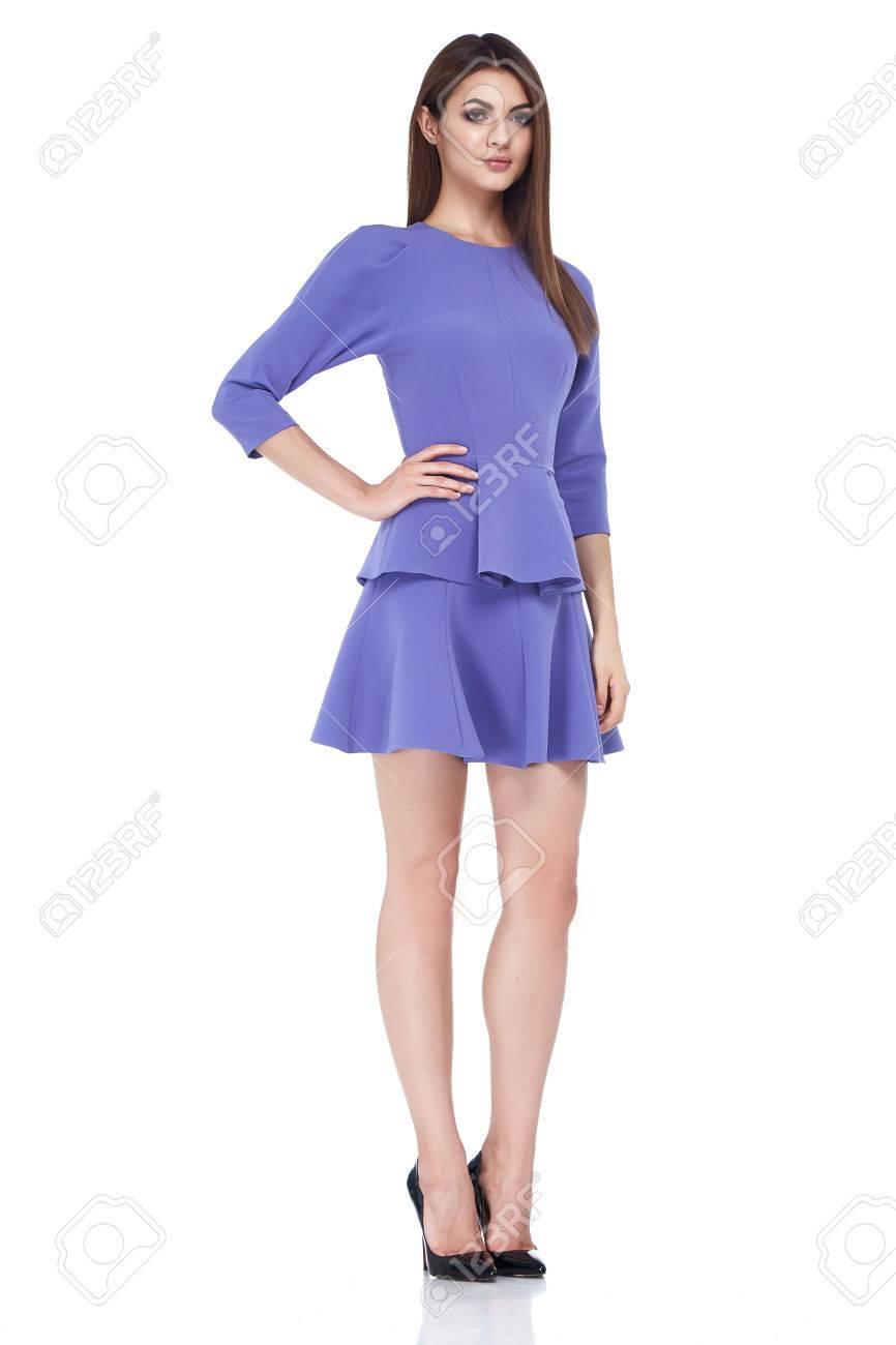 Hermosa Atractiva Colección De Otoño De La Ropa De Moda De Verano ...