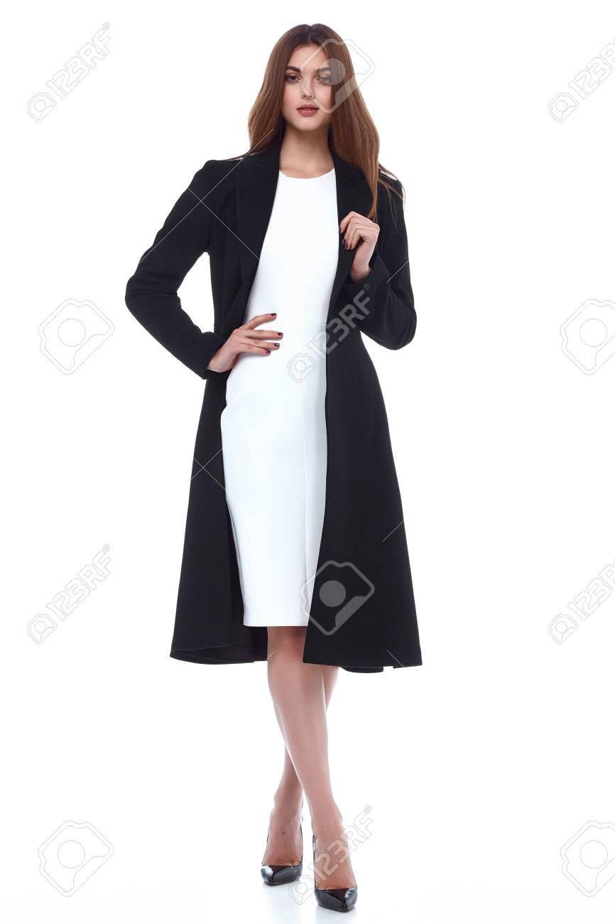7b46b6a4b Modelo De Mujer De Belleza Desgaste Diseño Elegante Estilo Tendencia De  Prendas De Vestir De Lana De Algodón Orgánico Gabardina Vestido De Prendas  Casuales ...