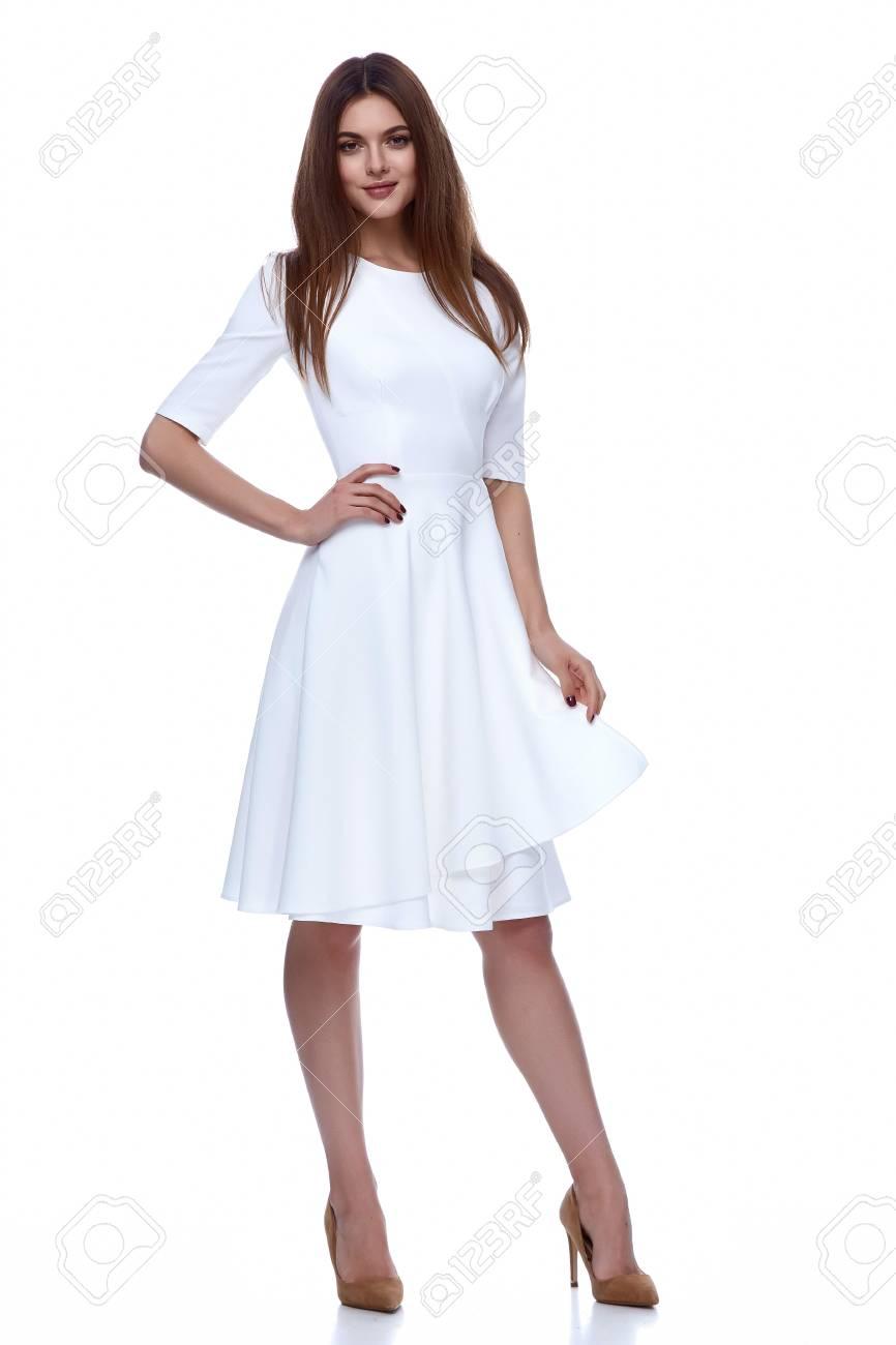 Mariée Blanc Robe Collection Catalogue Courte Style Beauté Vêtements Mignonne Modèle Glamour Printemps Femme De En Jour Mode 0wP8kXnO