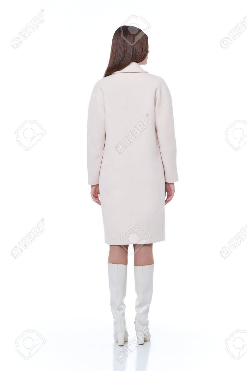 Wear face collection - Stock Photo Woman Wear Business Style Clothing For Office Casual Meeting Collection Accessory Wool Cotton Jacket Sexy Glamour Fashion Model Beauty Face