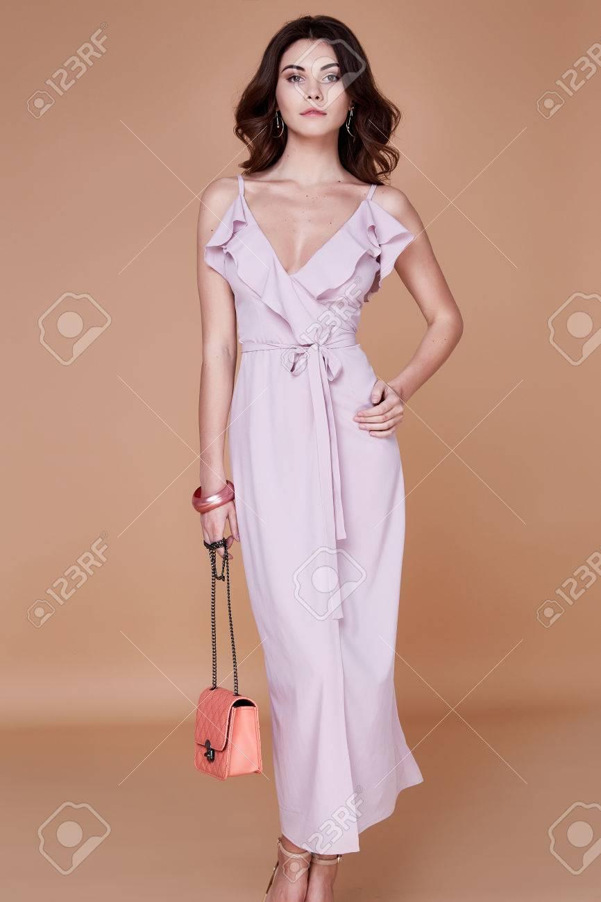 Tan face white body dress