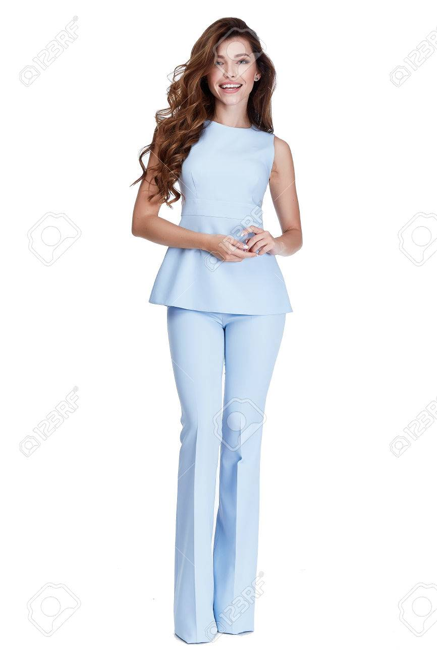 Femme Modele Fashion Style S Habiller Belle Secretaire