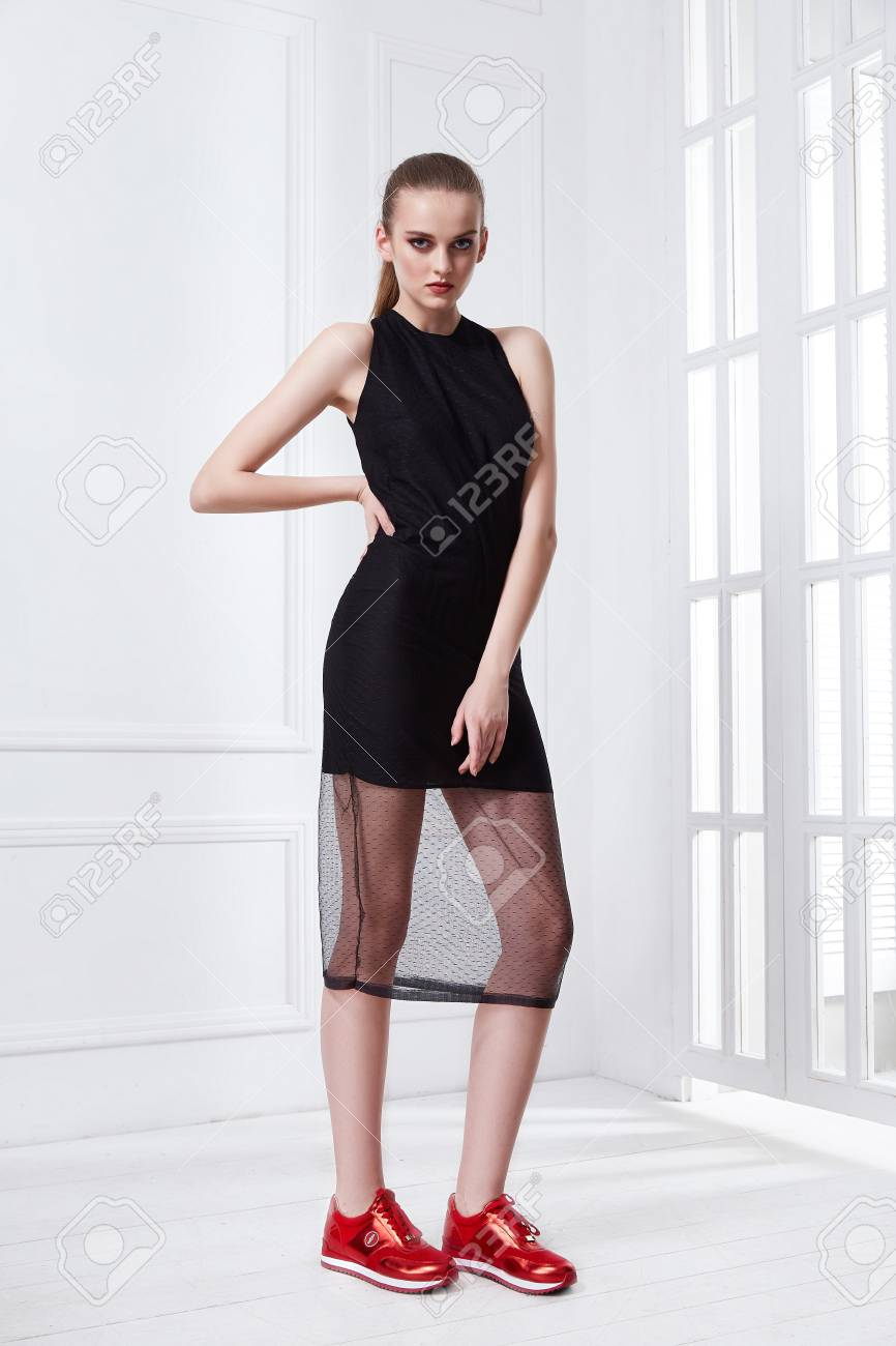 Beautiful Sexy Young Business Woman