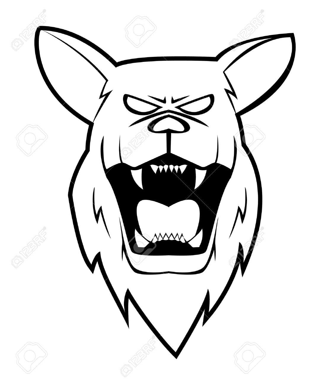 Photo Angry Shepherd Dog Face Jpg 1113x1300 Angry Dog Head Drawings
