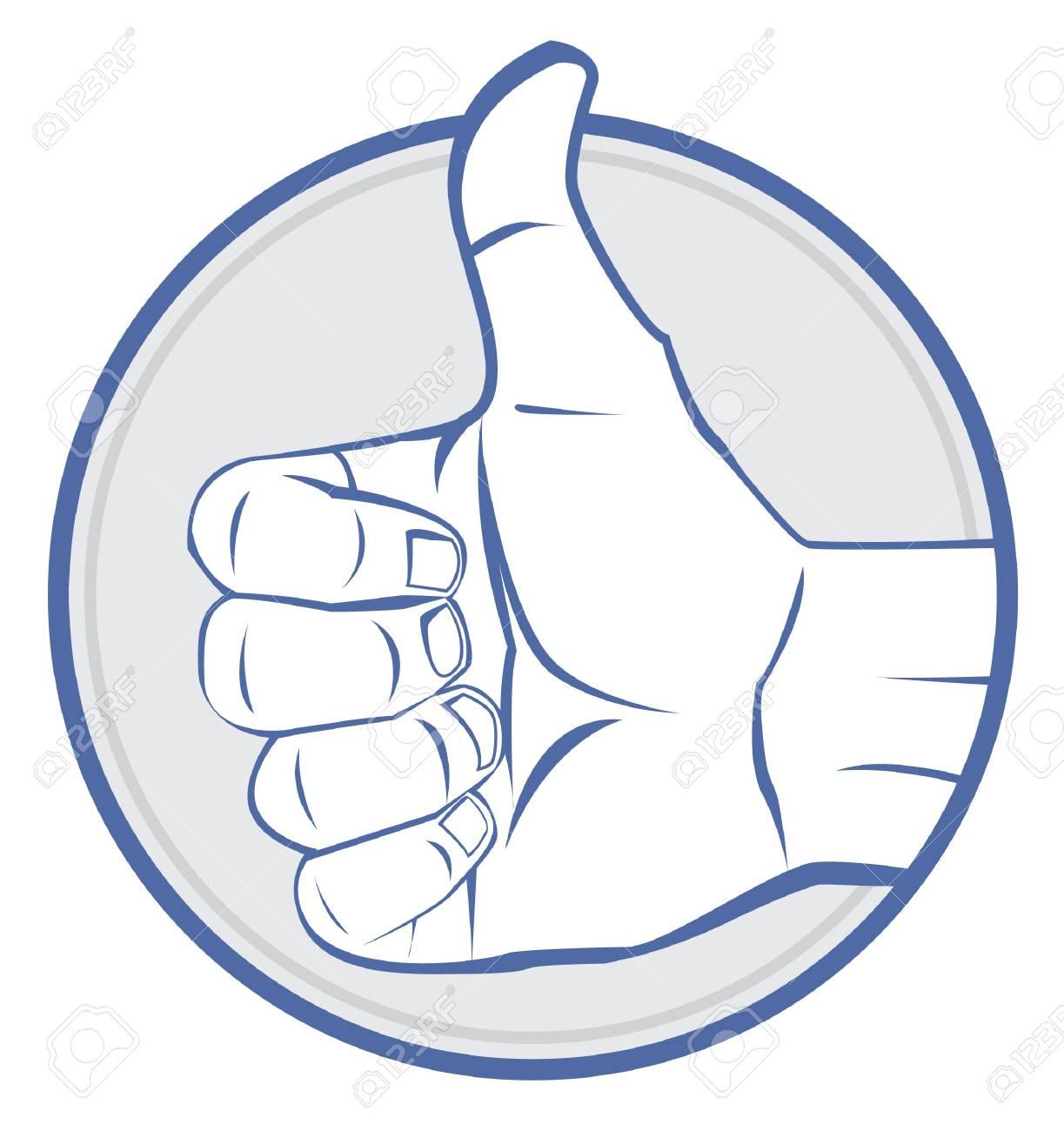 Thumb up Stock Vector - 17444579