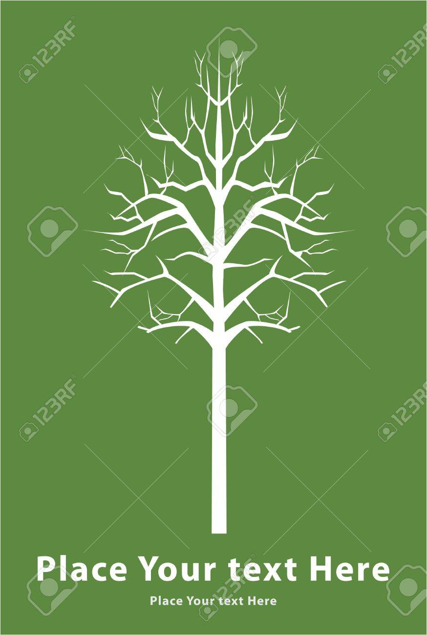 death tree sign Stock Vector - 17444952