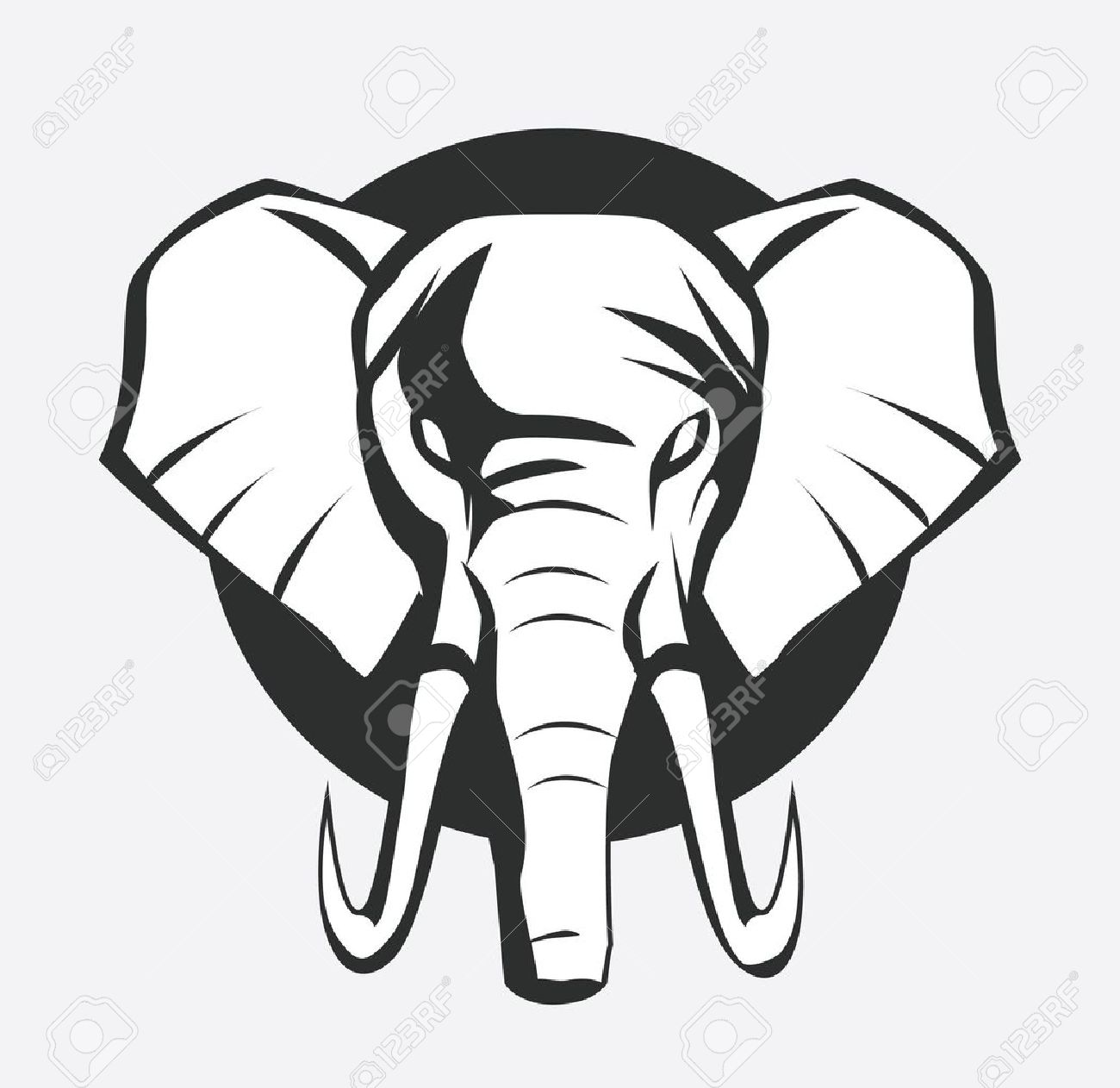 Elephant symbol royalty free cliparts vectors and stock elephant symbol stock vector 17444872 buycottarizona Images