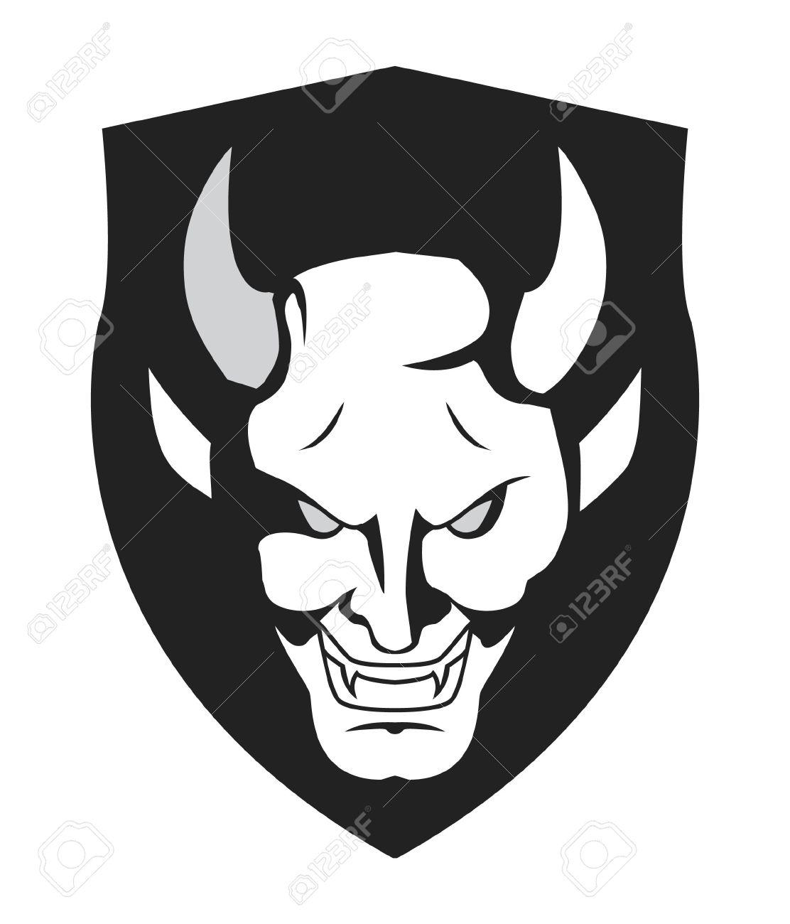demon symbol Stock Vector - 17444784